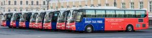 Аренда автобуса с водителем в СПб / jac HK 6120 фирменный
