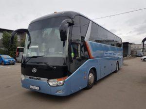Аренда автобуса с водителем в СПб / 2013 king long