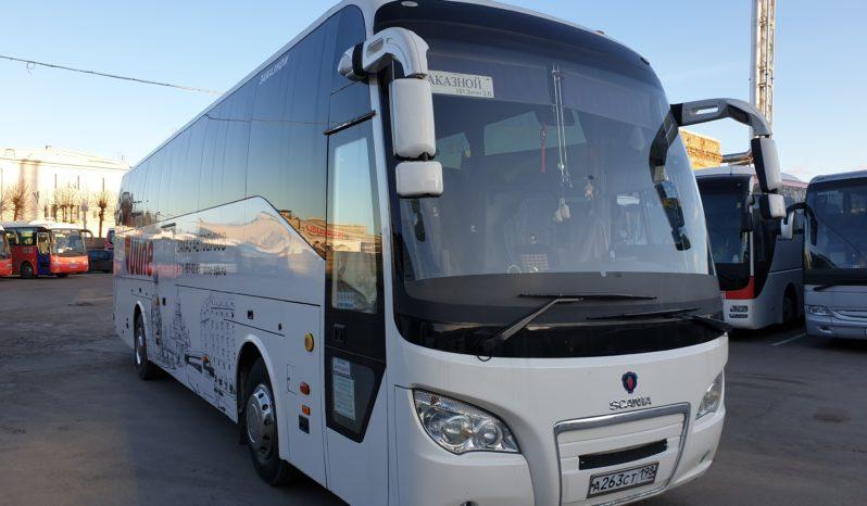 Аренда автобуса с водителем в СПб / Scania Higher A80