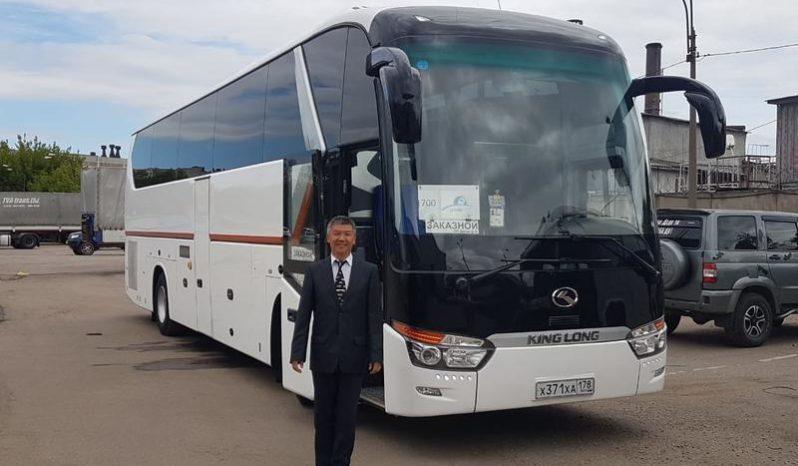 Аренда автобуса с водителем в СПб / king long 2017
